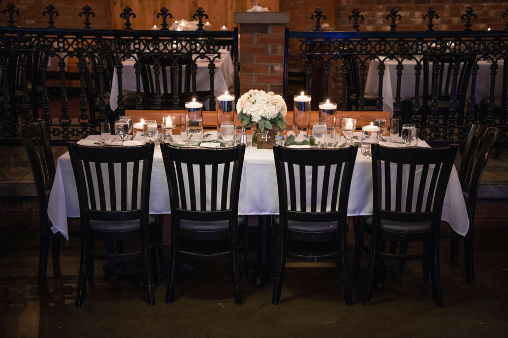 chairs placed near a nicely set table