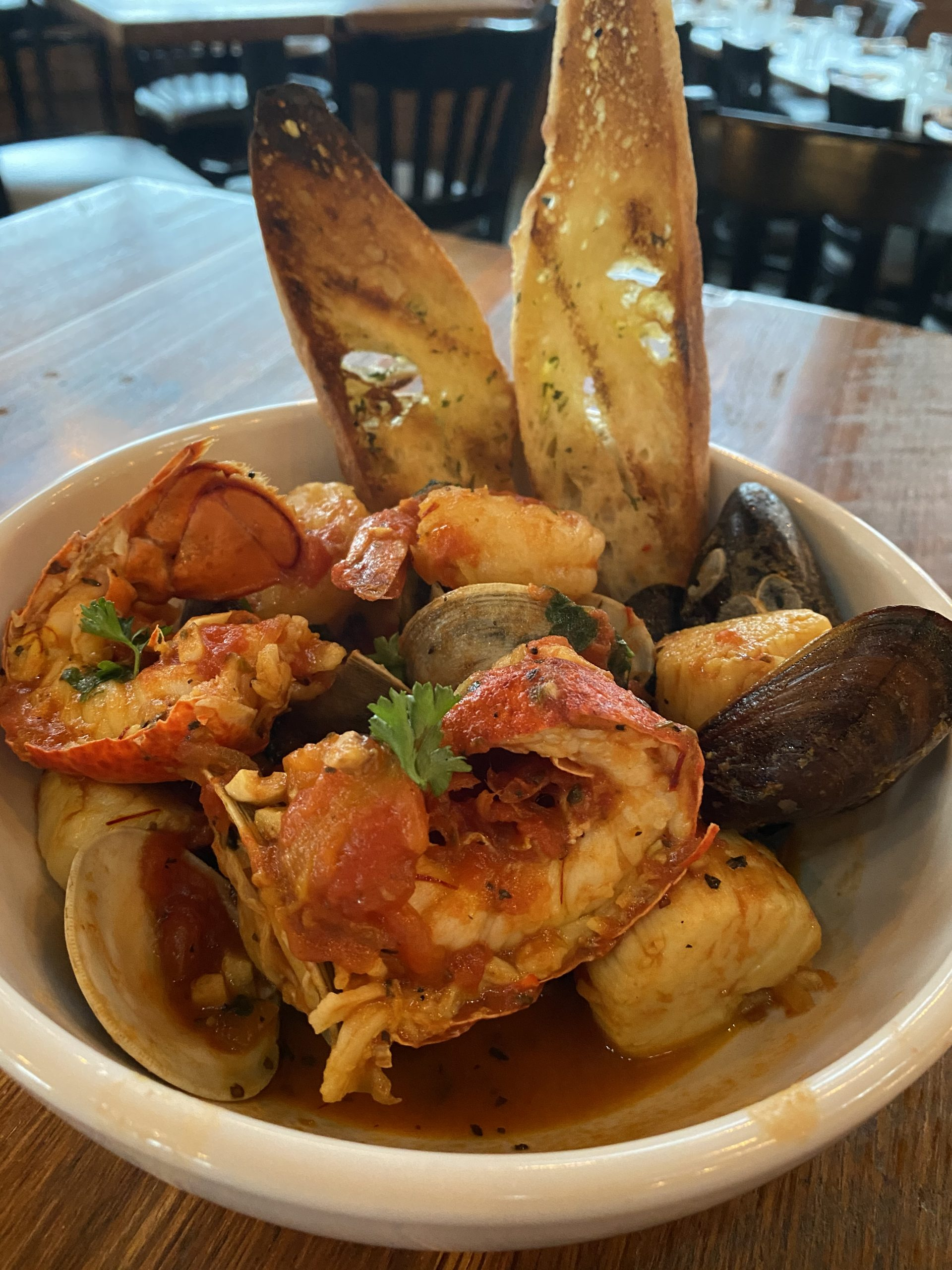 seafood medly bowl