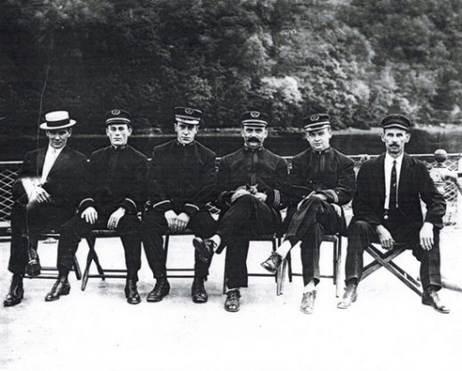 sailors on the rondout