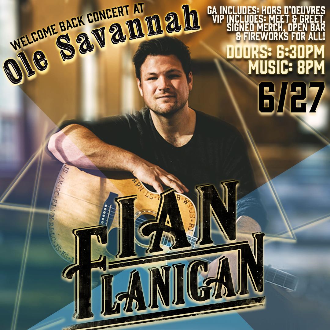 Ian Flanigan at Ole Savannah